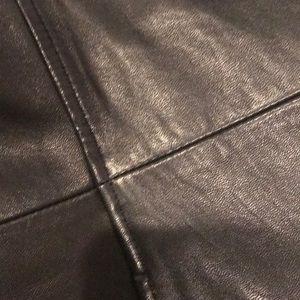 Nicole Miller Jackets & Coats - Nicole Miller supple leather coat- EC